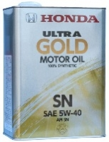 Масло моторное HONDA Ultra GOLD-SN 5W-40 (Япония)