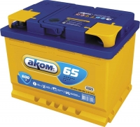 Аккумулятор АКОМ 6СТ-65