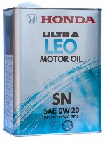 Моторное масло HONDA Ultra LEO-SN 0W-20 (Япония)