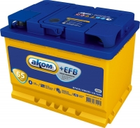 Аккумулятор АКОМ EFB 6СТ-65