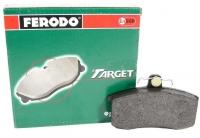 Колодки тормозные передние ВАЗ 2108-15, Priora, Kalina, Granta FERODO TARGET