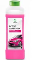 Шампунь для б/контактной мойки GRASS Active Foam Pink Розовая пена