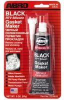 Герметик силиконовый черный ABRO 12AB