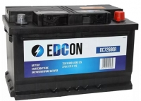 Аккумулятор EDCON 72Ач низкий