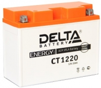 Аккумулятор DELTA 20Ah 12V CT 1220.1/12201