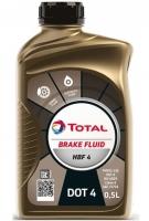 Жидкость тормозная Total Brake Fluid HBF 4