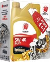 Масло моторное Idemitsu 5W-40 F-S Подарочный набор 4+1л