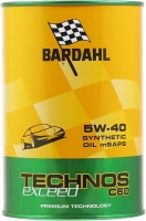 Моторное масло Bardahl TECHNOS C60 Exceed 5W-40