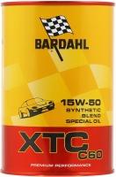 Моторное масло Bardahl XTC C60 15W-50