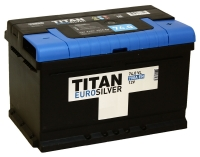 Аккумулятор TITAN Euro Silver 6СТ-74 низкий