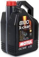 Масло моторное MOTUL 8100 X-clean 5W-40