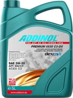 Масло моторное ADDINOL Premium 0530 C3-DX 5W-30
