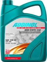 Масло моторное ADDINOL Semi Synth 1040 10W-40