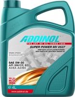 Масло моторное ADDINOL Super Power MV 0537 5W-30