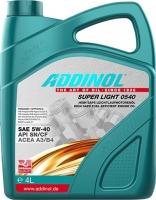 Масло моторное ADDINOL Super Light 0540 5W-40