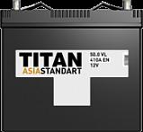 Аккумулятор TITAN Asia Standart 6СТ-50