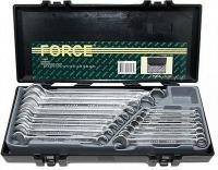 Набор ключей комбинированных 6-24 мм в кейсе Force