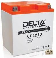 Аккумулятор DELTA 30Ah 12V CT 1230 AGM