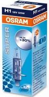 Лампа г/с H1 (55W) P14.5s Super +30% 12V 64150SUP 4050300479408 OSRAM
