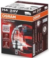 Лампа г/с H4 (75/70W) P43t Truckstar PRO 24V 64196TSP 4008321785046 OSRAM