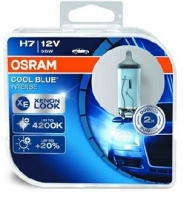 Лампа г/с H7 (55W) PX26d Cool Blue Intense 4200K 12V 2шт 64210CBI-HCB 4052899413047 OSRAM