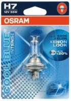 Лампа г/с H7 (55W) PX26d Cool Blue Intense 4200K 12V 64210CBI-01B 4008321651563 OSRAM