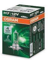 Лампа г/с H7 (55W) РХ26d (ULTRA LIFE) 12V 64210ULT 4008321416261 OSRAM