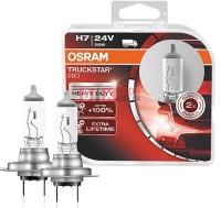 Лампа г/с H7 (70W) PX26d Truckstar PRO 24V 2шт 64215TSP-HCB 4052899413917 OSRAM