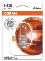 Лампа г/с H3 (55W) РК22s стандарт блистер 12V 64151-01B 4050300925349 OSRAM