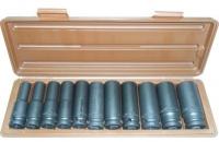 Набор головок ударных глубоких 10-24 мм Ombra