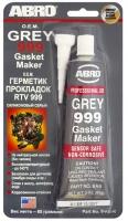 Герметик силиконовый Abro CША 999 серый