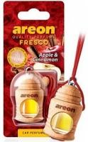 Ароматизатор на зеркало Areon fresco яблоко-корица бутылочка