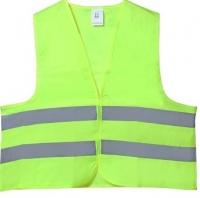 Жилет безопасности светоотражающий желто-зеленый Airline