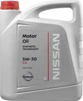 Моторное масло NISSAN Motor Oil 5W-30 C4