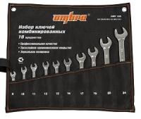 Набор ключей комбинированных 8-24 мм сумка Ombra