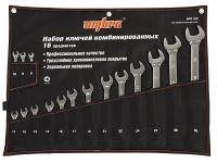Набор ключей комбинированных 8-32 мм сумка Ombra
