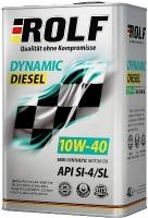 Моторное масло ROLF Dynamic DIESEL 10W-40