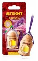 Ароматизатор на зеркало Areon fresco сирень бутылочка