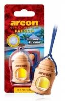 Ароматизатор на зеркало Areon fresco summer dream\летняя мечта бутылочка