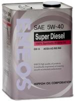 Масло моторное ENEOS Super DIESEL 5W-40 CH-4 (синт)