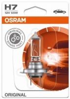 Лампа г/с H7 (55W) РХ26d Original блистер 12V 64210-01B 4050300925202 OSRAM