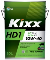Масло моторное KIXX HD1 10W-40