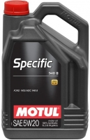 Масло моторное MOTUL Specific 948B 5W-20 (FORD)
