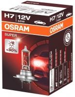 Лампа г/с H7 (55W) PX26d Super +30% 12V 64210SUP 4008321890375 OSRAM