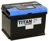 Аккумулятор TITAN Euro Silver 6СТ-60 низкий